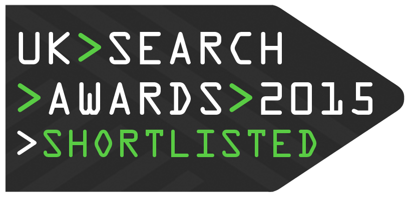 News Dashboard is nominated for UK Search Awards 2015