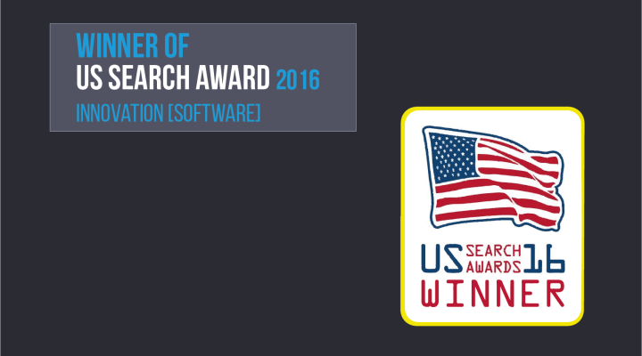 Das Trisolute News Dashboard gewinnt bei den US Search Awards 2016.