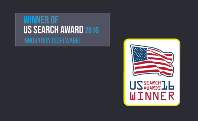 Trisolute News Dashboard won at the US Search Awards