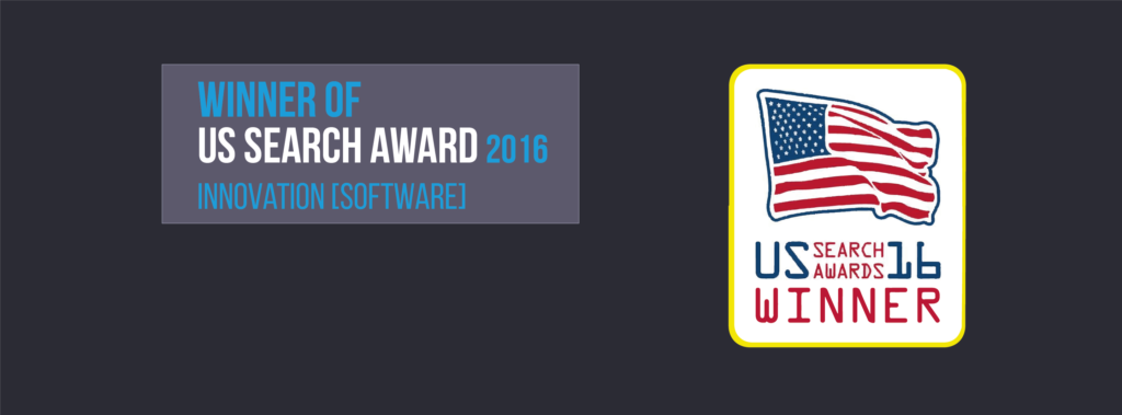 Trisolute News Dashboard won US Search Awards 2016