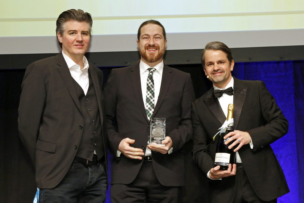 Trisolute News Dahboards wins SEMY Award the second time