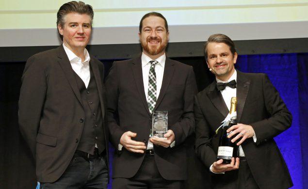 Tobias Fellner, Jens Fauldrath, Markus Tandler auf dem SEMY 2017