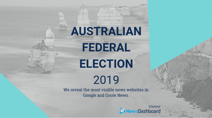 Most visible publisher in Google news elements for the Australian federal election.