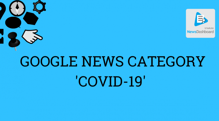Cover picture for the crawling announcement for the Google News category COVID-19