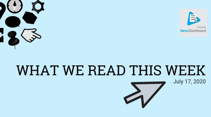 What we read this week
