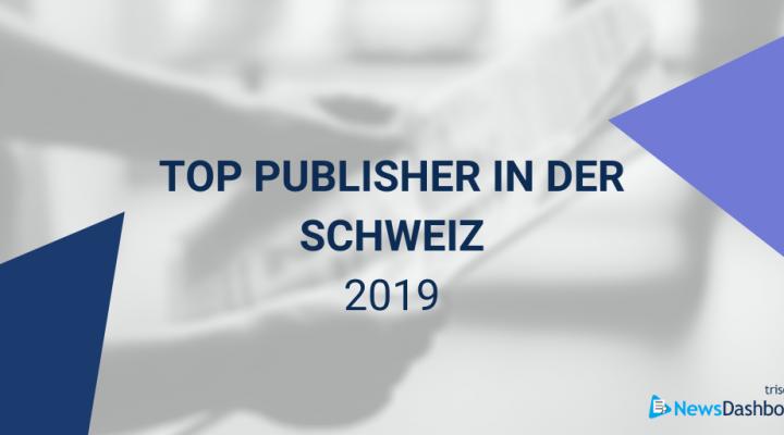 Header für die Schweizer Top Publisher auf Google 2019